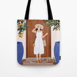 Colours of Marrakech Tote Bag