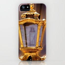 Castle Nympfenburg Munich : The golden Lantern iPhone Case
