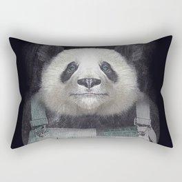 Billy Bob Panda Rectangular Pillow