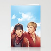 merlin Stationery Cards featuring Merlin by Drag Me To Work