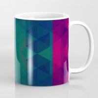 geo Mugs featuring Geo by Catherine Stuckrath