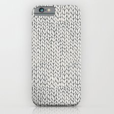 Hand Knit Grey iPhone 6s Slim Case
