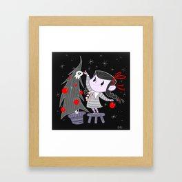 Dark Christmas Framed Art Print