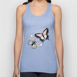 Butterfly pattern 002 Unisex Tank Top