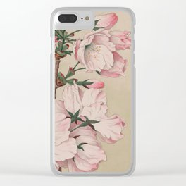 Ariaki - Daybreak Cherry Blossoms Clear iPhone Case
