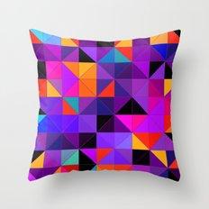 Purple and orange 2 Throw Pillow