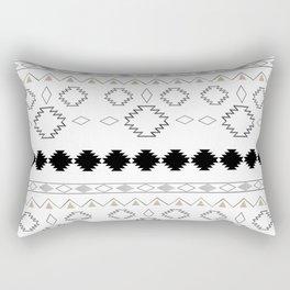 Tribal Boho Pattern Chic #1 #aztec #decor #art #society6 Rectangular Pillow