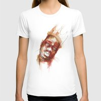 biggie T-shirts featuring Biggie  by Allison Kunath