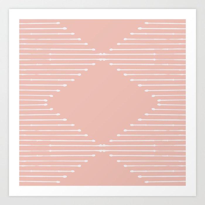 Geo (Blush) Kunstdrucke