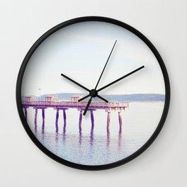 Ruston Way Wall Clock
