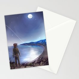 Penglass Moon Stationery Cards