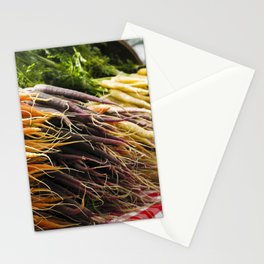 Market Carrots Stationery Cards