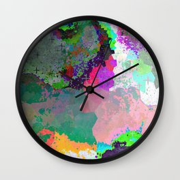 Enchantment of the Sun Wall Clock