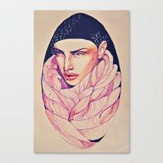 Egglady Canvas Print