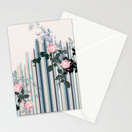 Uneven stripe Stationery Cards