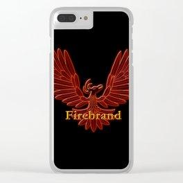 Ebaven Firebird Clear iPhone Case