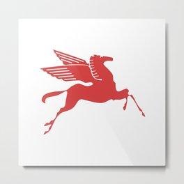 Pegasus Dallas Metal Print
