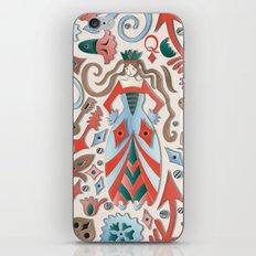 Queen of Diamonds iPhone & iPod Skin
