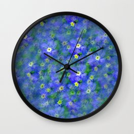 forget me not !! Wall Clock