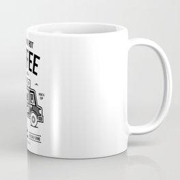 Fresh and Hot Coffee Food Truck Coffee Mug