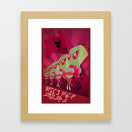 Join the Armada - Invader Zim Framed Art Print