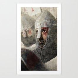 The Crusader Art Print