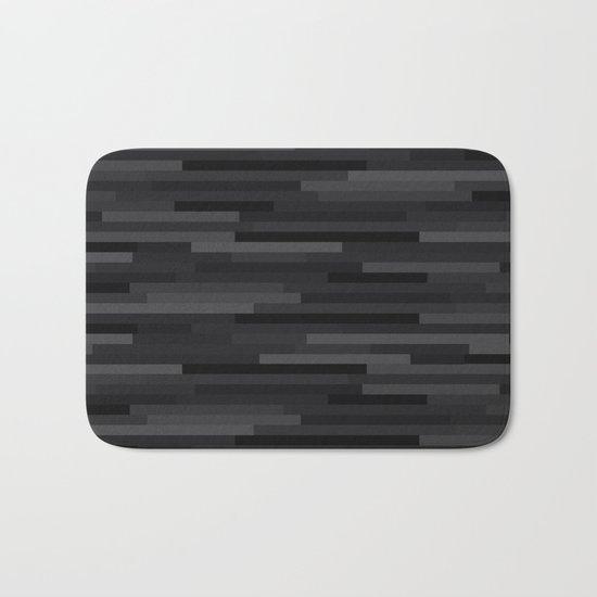 Black Estival Mirage Bath Mat