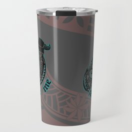 Funny Bite Me Samoan Hook Travel Mug