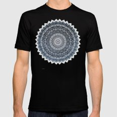 COLD WINTER MANDALA MEDIUM Mens Fitted Tee Black