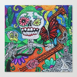 The Happy Dead Canvas Print