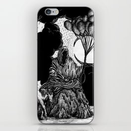 Death has a Pony iPhone Skin