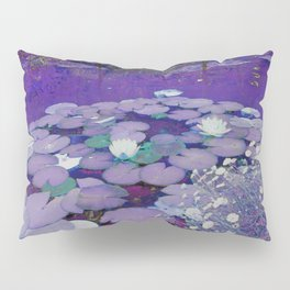 Purple Lake Dreaming Pillow Sham