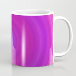 Orange & Purple Gradient Circles Coffee Mug