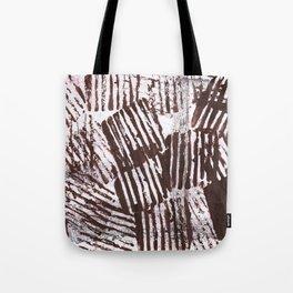 Brown abstract Tote Bag