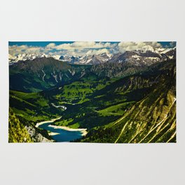 Swiss Alps Rug