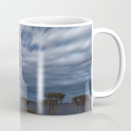 Birch tree by the pond Coffee Mug