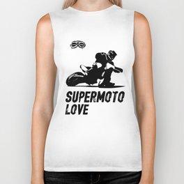 Supermoto Love Biker Tank