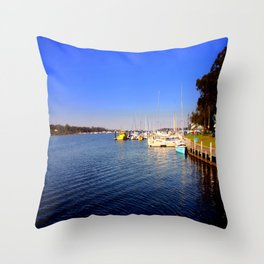 Thompson River - Paynesville - Australia Throw Pillow