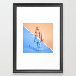 Sup, ladies? Framed Art Print