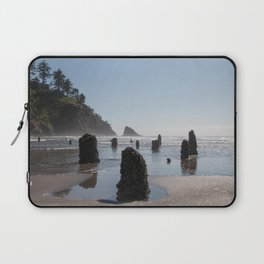 Neskowin Ghost Forest Laptop Sleeve