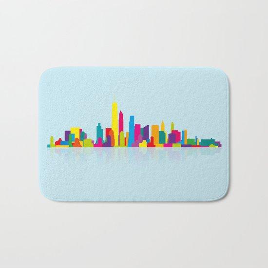 New WTC Skyline Bath Mat