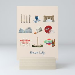 Kansas City, Missouri Mini Art Print