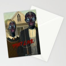 They live (1988) Stationery Cards