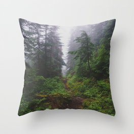 Snoqualmie Pass - Pacific Crest Trail, Washington Throw Pillow