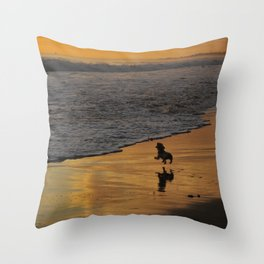 Fearless Determination, Plentiful Joy Throw Pillow