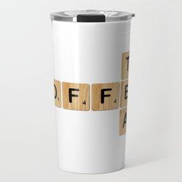 Scrabble - Coffee & Tea Travel Mug