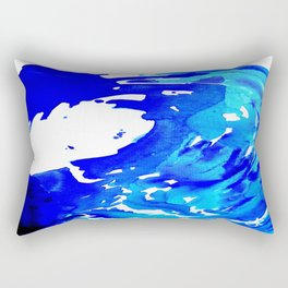 Save The Water Watercolour Rectangular Pillow
