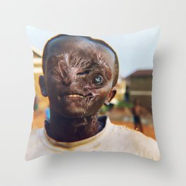 Creaturely Kids Play Throw Pillow