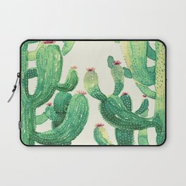 huge twin cactus Laptop Sleeve