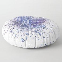 Viking Valknut Space Dust Floor Pillow
